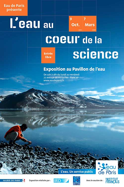 Exposition : L'eau au cœur de la science