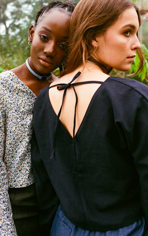 Les Sauvageonnes: the eco-responsible women's fashion made in Paris