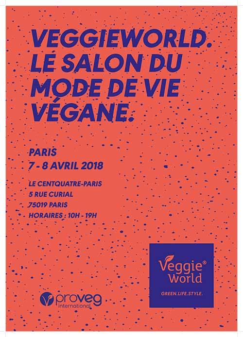 5e édition du salon végétalien VeggieWorld au Centquatre