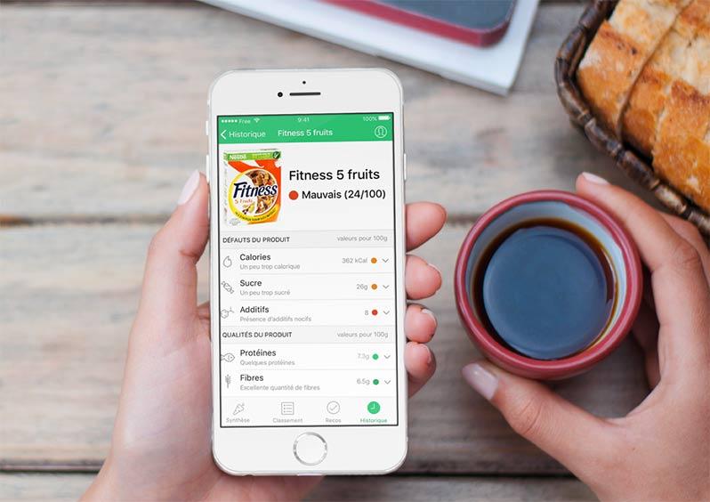 Yuka : l'application qui scanne la composition des aliments