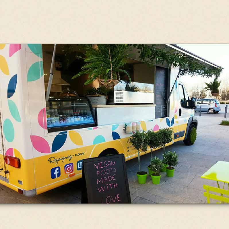 Paulette in the truck : le food truck vegan de Paris