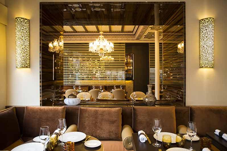 Le restaurant Maison Noura avenue Marceau fait peau neuve