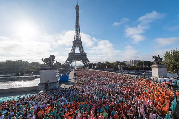 Race La Parisienne: New York City colours for the 2018 edition!