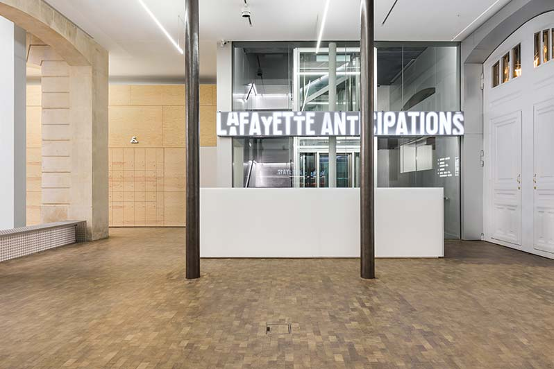 Lafayette Anticipations: the new cultural space in Paris