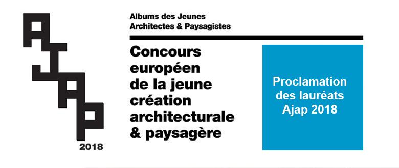 Album des jeunes architectes et paysagistes 2018