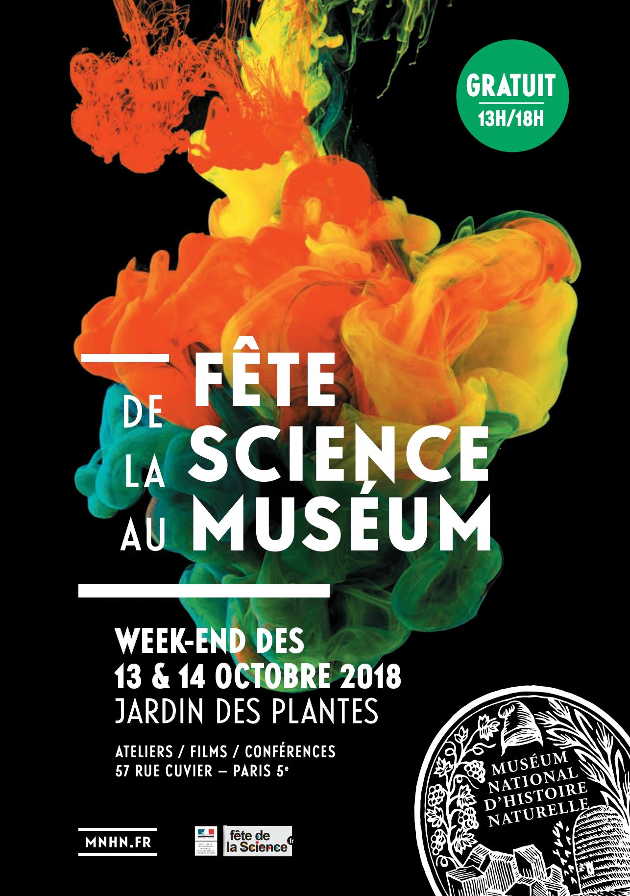Fête de la science 2018 – Jardin des Plantes