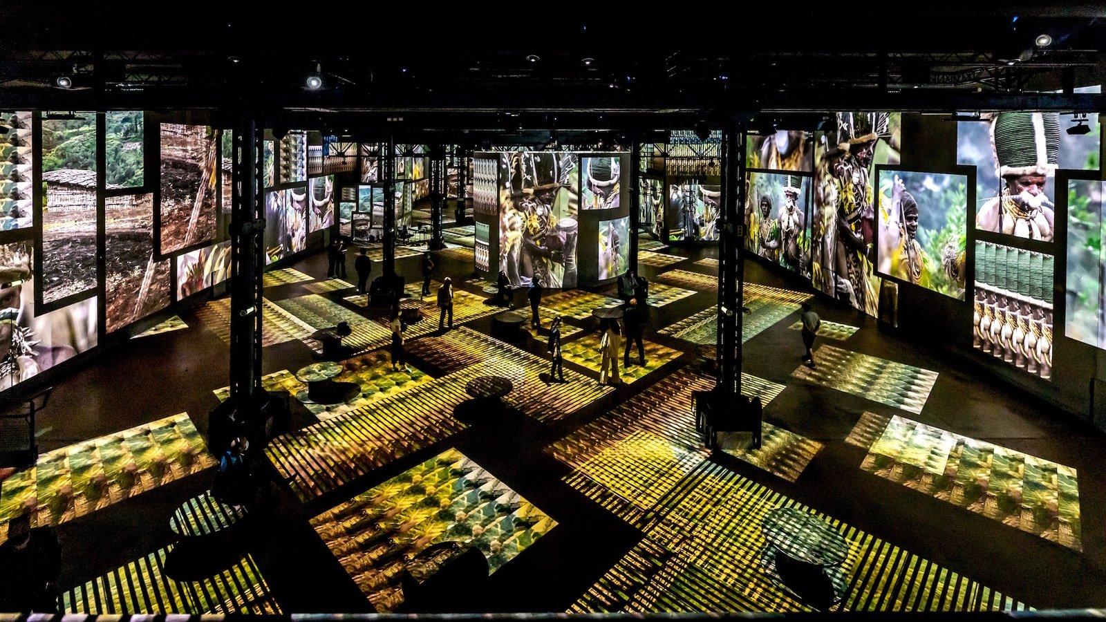 L'Atelier des Lumières propose 16 nocturnes exceptionnelles